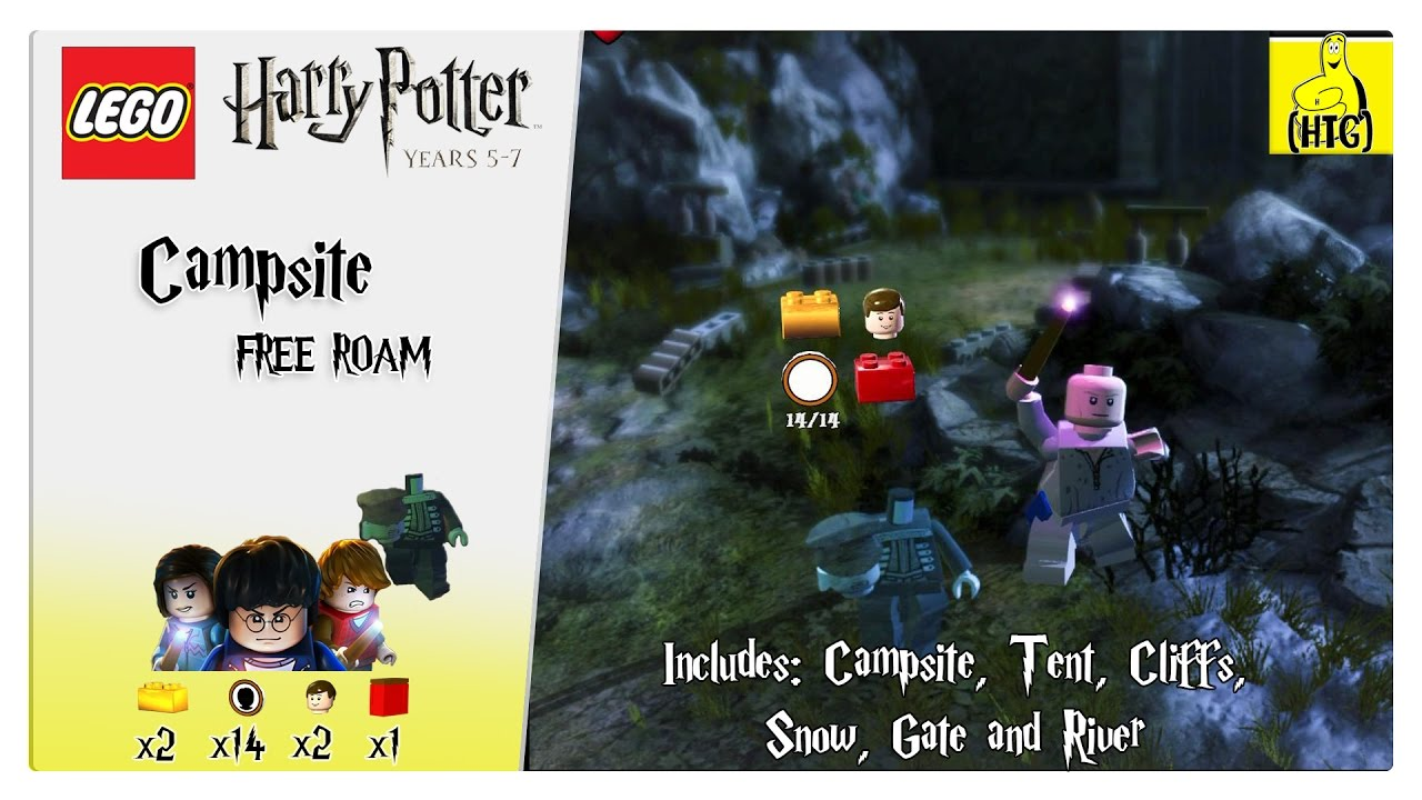 Lego Harry Potter 5-7: Campsite FREE ROAM (All Collectibles) – HTG