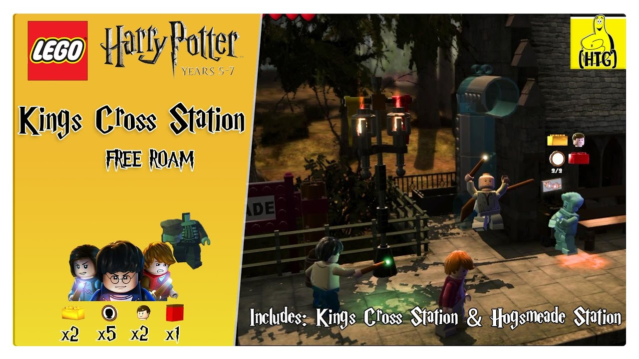 Lego Harry Potter 5-7: Kings Cross Station FREE ROAM (All Collectibles) – HTG