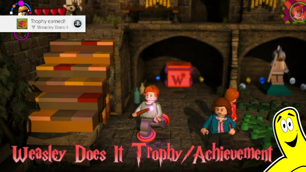 "Lego Harry Potter 5-7: ""Weasley Does It"" Trophy/Achievement – HTG"
