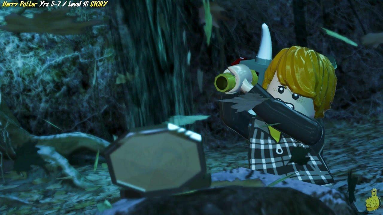 Lego Harry Potter Years 5-7: Level 16 / Sword and Locket STORY – HTG