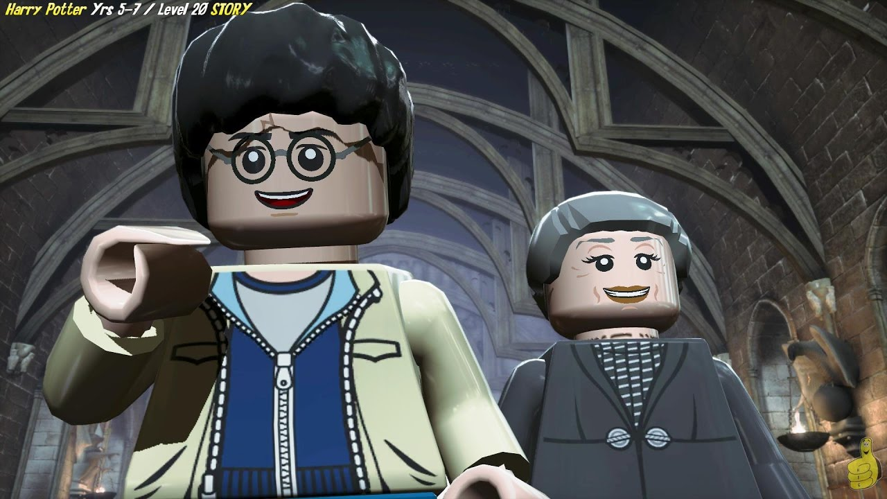 Lego Harry Potter Years 5-7: Level 20 / Back to School STORY – HTG