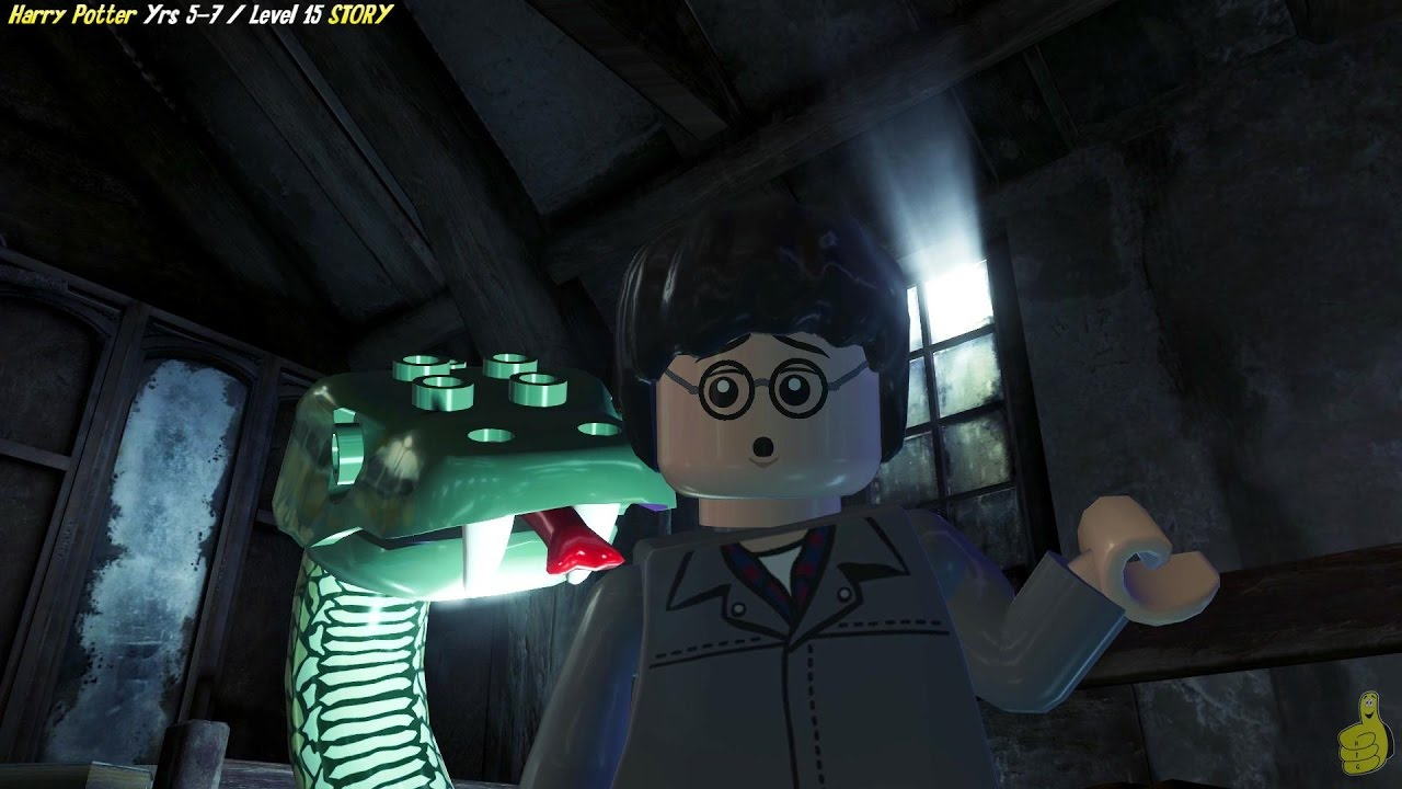 Lego Harry Potter Years 5-7: Level 15 / In Grave Danger STORY – HTG