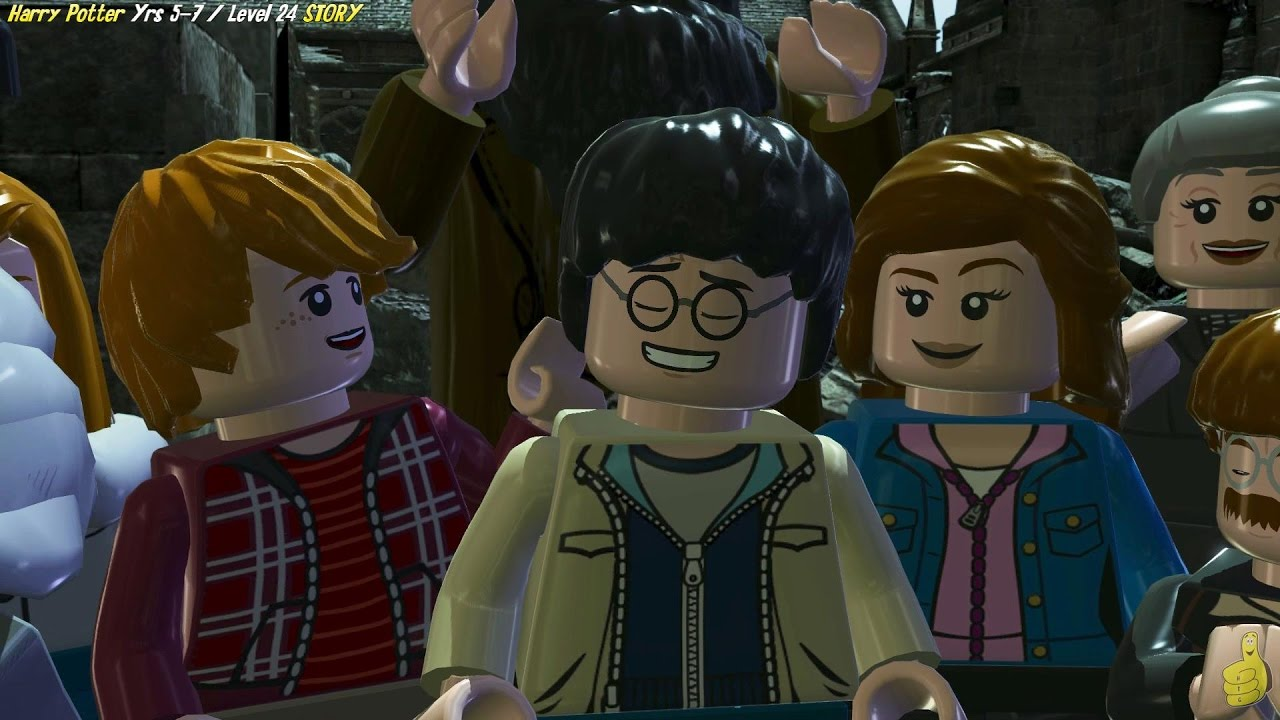 Lego Harry Potter Years 5-7: Level 24 / The Flaw in the Plan STORY – HTG