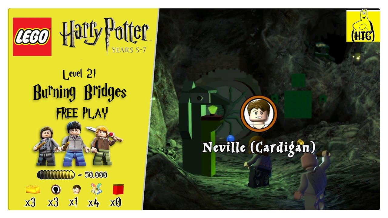 Lego Harry Potter Years 5-7: Lvl 21 / Burning Bridges FREE PLAY (All Collectibles) – HTG