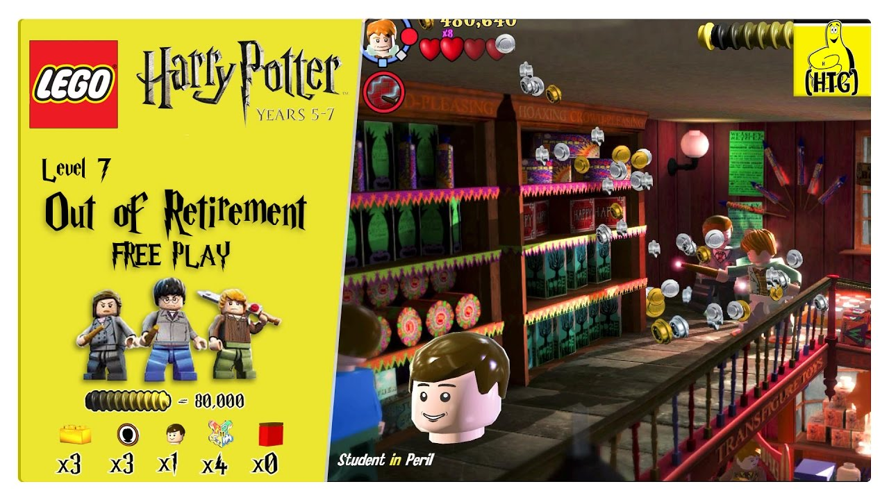 Lego Harry Potter Years 5-7: Lvl 7 / Out of Retirement FREE PLAY (All Collectibles) – HTG