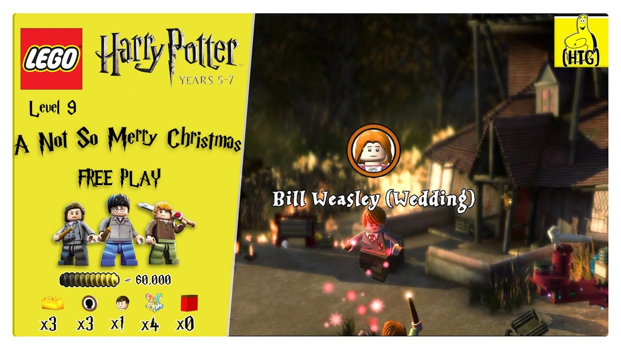 Lego Harry Potter Years 5-7: Lvl 9 / Not So Merry Christmas FREE PLAY (All Collectibles) – HTG