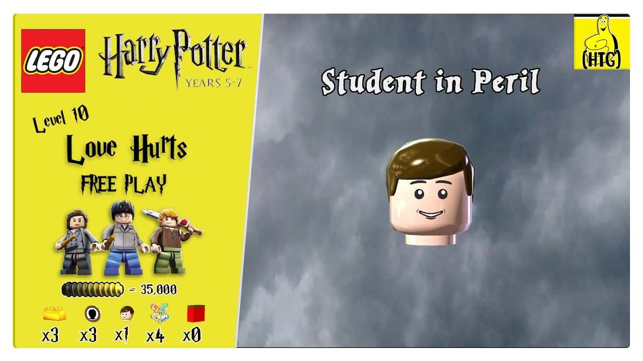 Lego Harry Potter Years 5-7: Lvl 10 / Love Hurts FREE PLAY (All Collectibles) – HTG