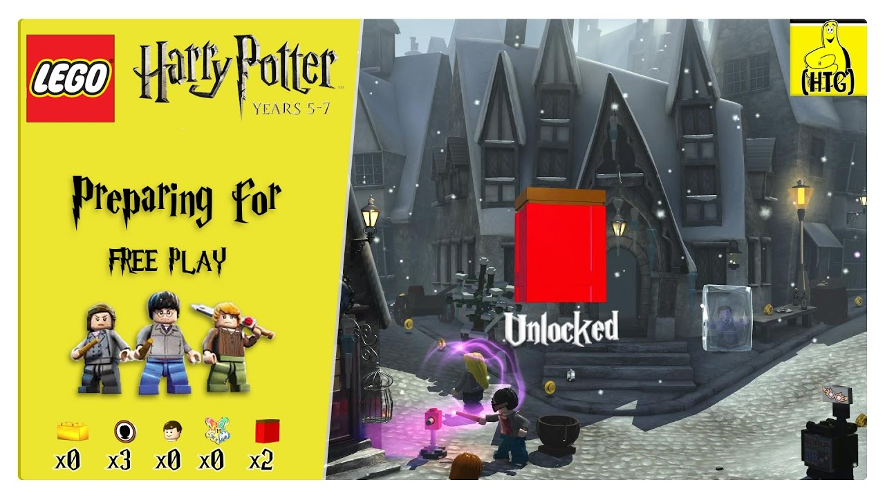 Lego Harry Potter Years 5-7: Preparing For FREE PLAY (Characters & Red Bricks) – HTG