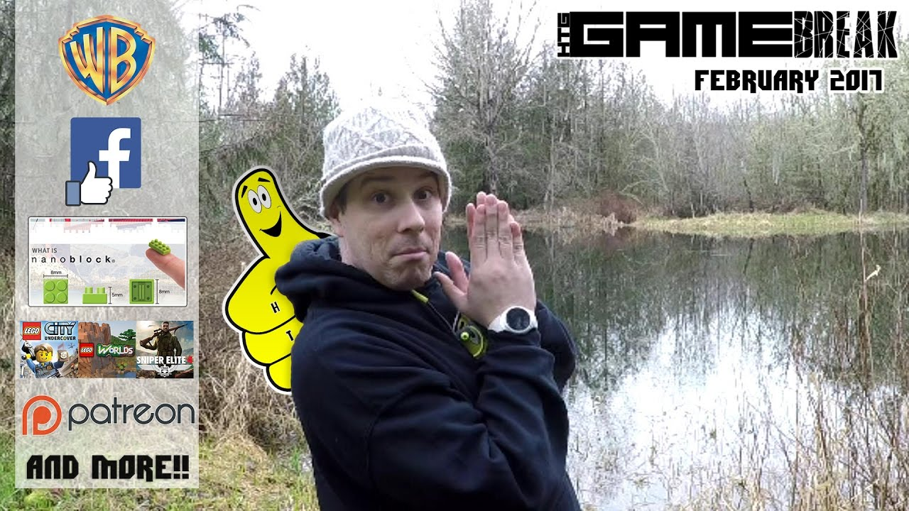 Gamebreak: February 2017 with Brian – HTG