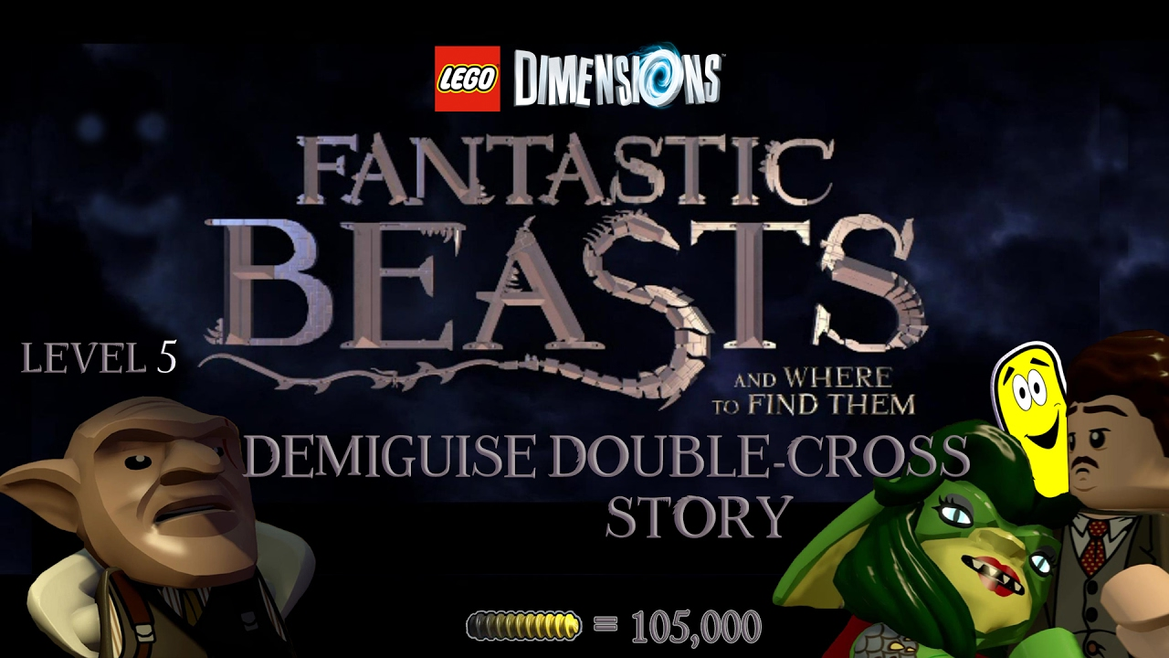 Lego Dimensions: Fantastic Beasts / Demiguise Double Cross STORY – HTG
