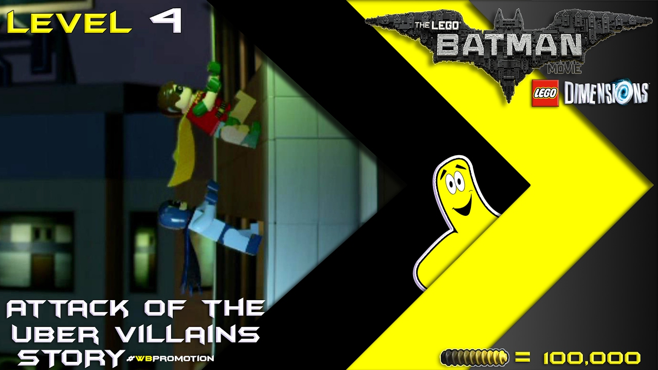 Lego Dimensions: Lego Batman Movie / Attack of the Uber Villains STORY – HTG