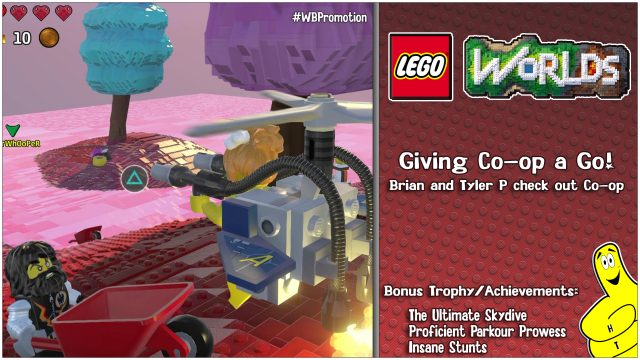 Lego Worlds: Giving Co-op A Go! – HTG