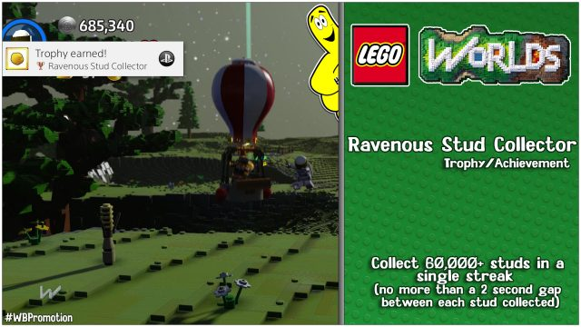 "Lego Worlds: ""Ravenous Stud Collector"" Trophy/Achievement – HTG"