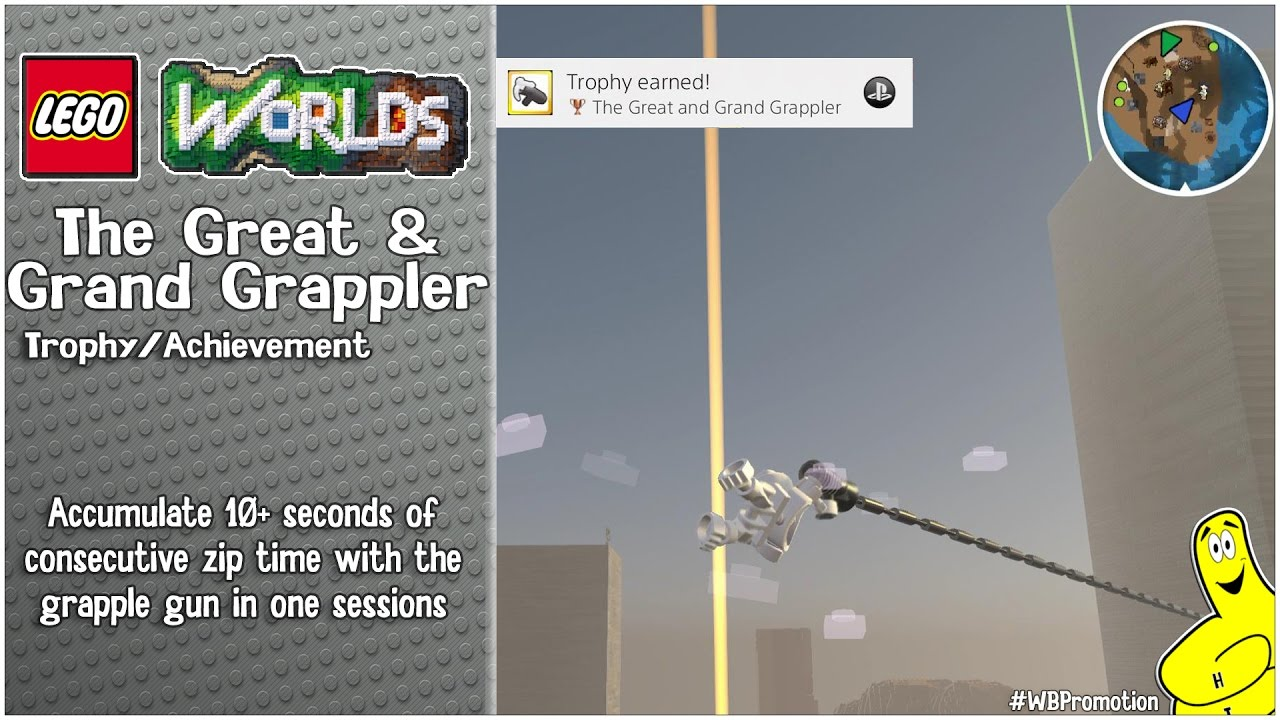 "Lego Worlds: ""The Great and Grand Grappler"" Trophy/Achievement – HTG"