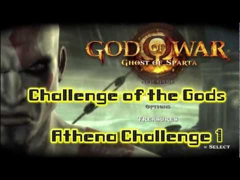God of War Ghost of Sparta:  Athena Challenge 1 – HTG