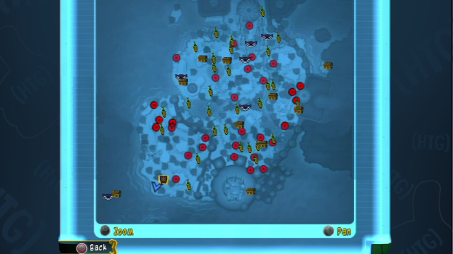 Sly Cooper Thieves in Time Episode 5 – All Sly Mask Locations Map