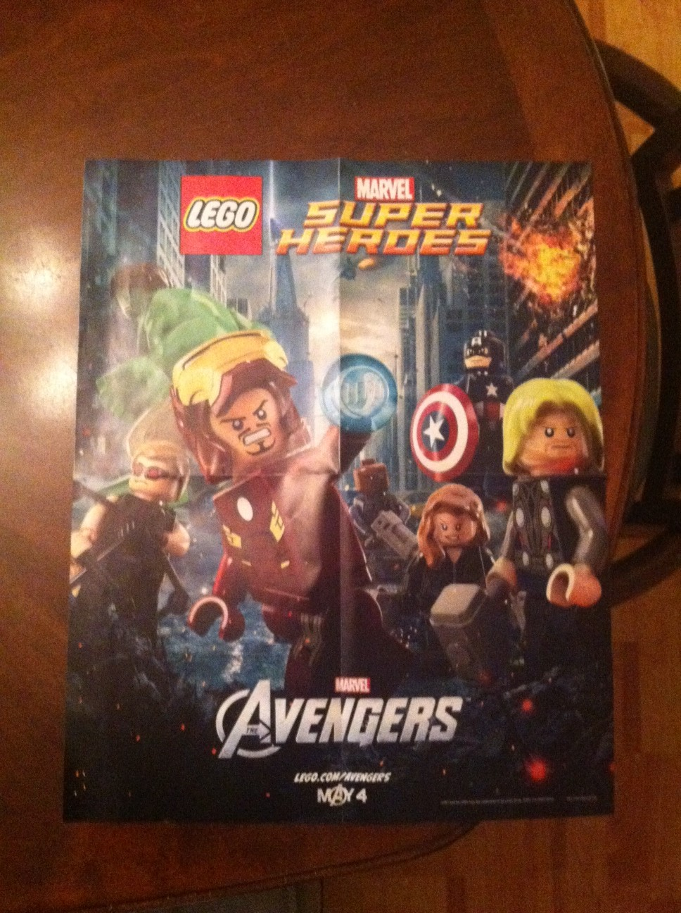 Lego Marvel Poster Contest – HTG
