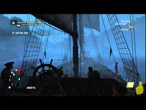 Assassin's Creed IV Black Flag: Sequence 10 Memory 1 (Black Bart's Gambit) 100% Sync – HTG