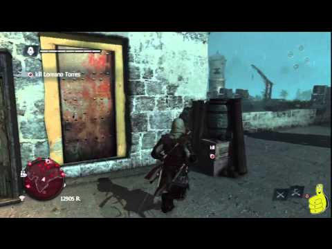 Assassin's Creed IV Black Flag: Sequence 12 Memory 3 (Tainted Blood) 100% Sync – HTG