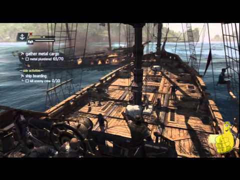 Assassin's Creed IV Black Flag: Sequence 3 Memory 4 (Raise the Black Flag) 100% Sync – HTG