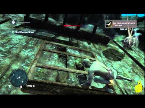 Assassin's Creed IV Black Flag: Sequence 6 Memory 1 (Diving for Medicines) 100% Sync – HTG