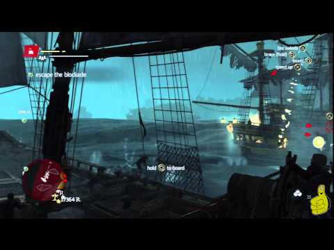 Assassin's Creed IV Black Flag: Sequence 7 Memory 4 (The Fireship) 100% Sync – HTG