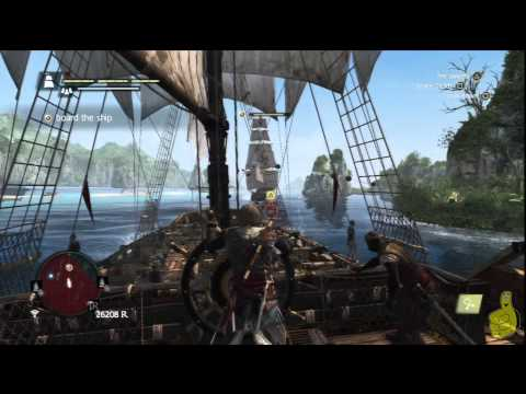 Assassin's Creed IV Black Flag: Sequence 8 Memory 2 (Vainglorious Bastards) 100% Sync – HTG