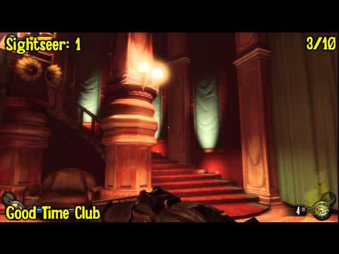 Bioshock Infinite: All Collectibles Locations – Part 10 (Voxophones, Sightseers, Infusions) -HTG