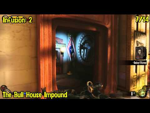 Bioshock Infinite: All Collectibles Locations – Part 11 (Voxophones, Sightseers, Infusions) -HTG