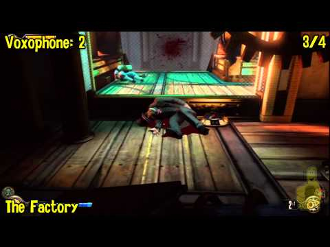 Bioshock Infinite: All Collectibles Locations – Part 12 (Voxophones, Sightseers, Infusions) -HTG