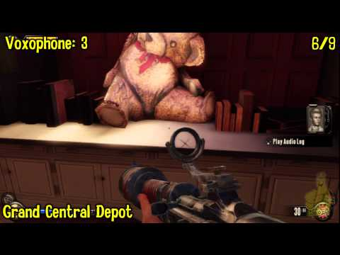 Bioshock Infinite: All Collectibles Locations – Part 13 (Voxophones, Sightseers, Infusions) -HTG