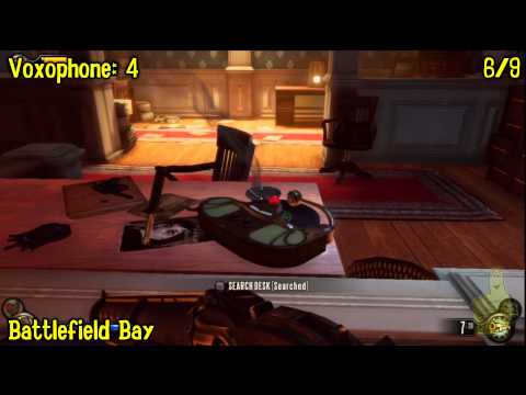 Bioshock Infinite: All Collectibles Locations – Part 5 (Voxophones, Sightseers, Infusions) -HTG