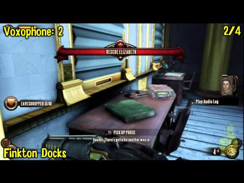 Bioshock Infinite: All Collectibles Locations – Part 8 (Voxophones, Sightseers, Infusions) -HTG