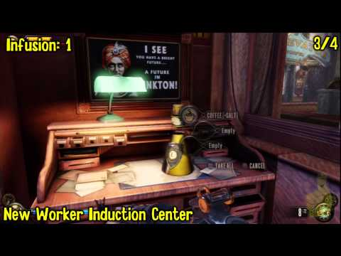 Bioshock Infinite: All Collectibles Locations – Part 9 (Voxophones, Sightseers, Infusions) -HTG