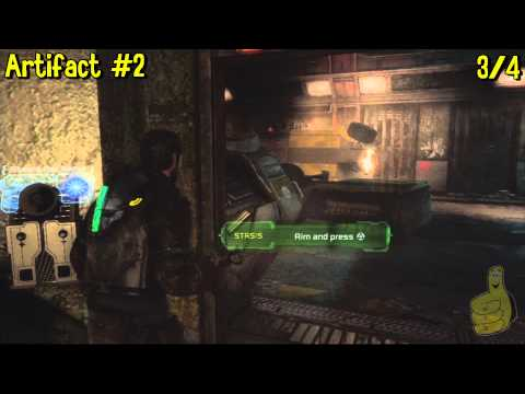 Dead Space 3: Chapter 1- All Collectibles Locations (Artifacts, Logs, Weapon Parts & Circuits) – HTG