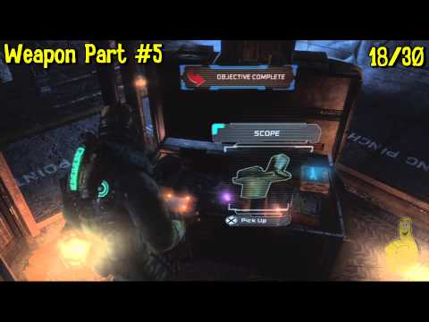 Dead Space 3: Chapter 9- All Collectibles Locations (Artifacts, Logs, Weapon Parts & Circuits) – HTG