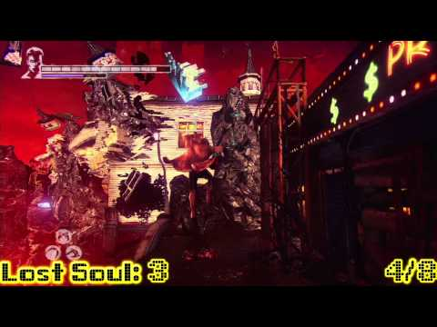 DmC Devil May Cry: Mission 1 – All Collectibles Locations (Lost Souls, Keys, Secret Doors) – HTG