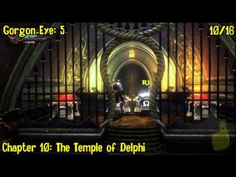 God of War Ascension: Collectibles Locations Part 2 (Artifacts, Eyes, Feathers, Chests) -HTG