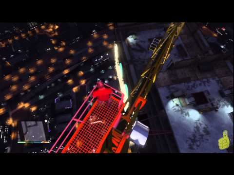 Grand Theft Auto 5: How Not To Parachute (A GTA 5 Parachute Fail) – HTG