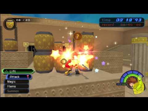 Kingdom Hearts Final Mix HD Coliseum Speedrun – HTG