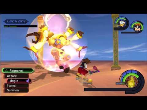Kingdom Hearts Final Mix HD Kurt Zisa Battle (The Sandy Blade Trophy) – HTG