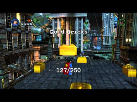 Lego Batman 2 DC Super Heroes: Central Gotham City Gold Brick Locations 1 of 3 – HTG