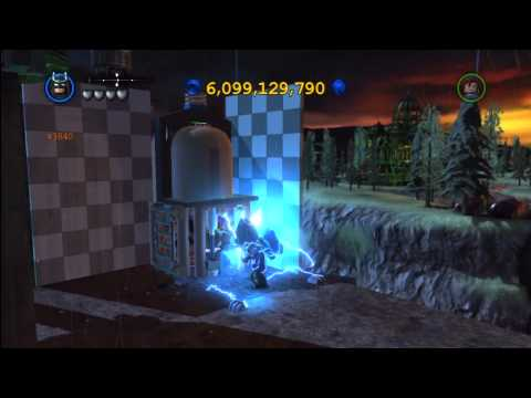 Lego Batman 2 DC Super Heroes: Central Gotham City Gold Brick Locations 2 of 3 – HTG
