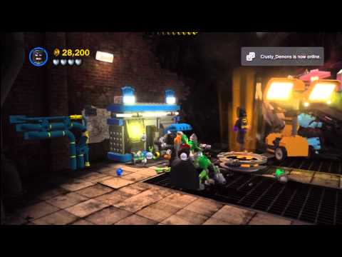 Lego Batman 2 DC Super Heroes: Level 11 FREE PLAY – 10 of 10 Mini Kits – HTG