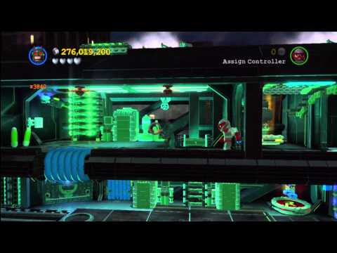 Lego Batman 2 DC Super Heroes: Level 6 FREE PLAY – 10 of 10 Mini Kits and Citizen in Peril – HTG