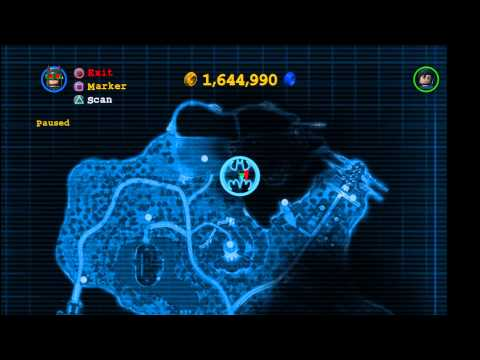 Lego Batman 2 DC Super Heroes: North Gotham City Island Gold Brick Locations 1/2 – HTG