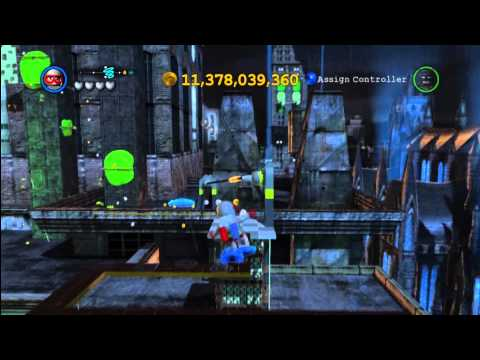 Lego Batman 2 DC Super Heroes: South Gotham City Gold Brick Locations 2 of 3 – HTG
