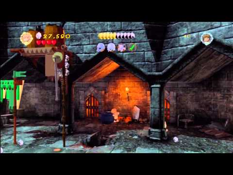 Lego Lord of the Rings: Level 14/Cirith Ungol – We Did It Mr Frodo – HTG