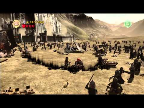 Lego Lord of the Rings: Level 16/The Battle Of Pelennor Fields – FREE PLAY – All Collectables – HTG