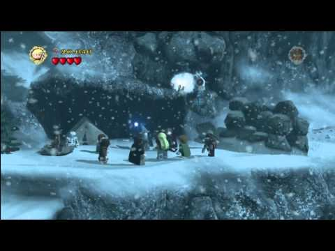Lego Lord of the Rings: Level 4/The Pass of Caradhras – The Long Way Around Trophy/Achievement – HTG